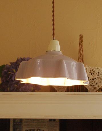pl-103ランプシェードの点灯