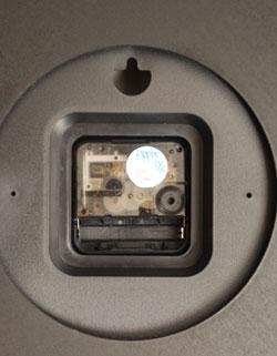 n12-057 ウォールクロック(ブラウン)