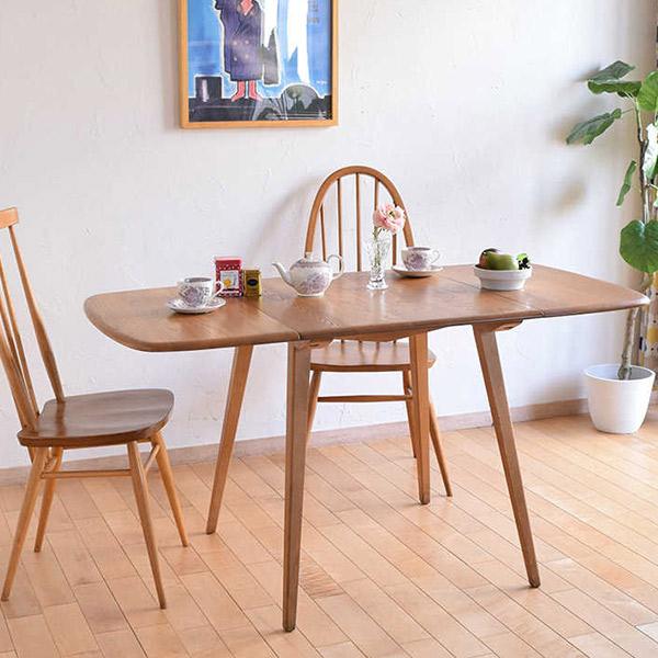 アーコールの伸長式テーブル