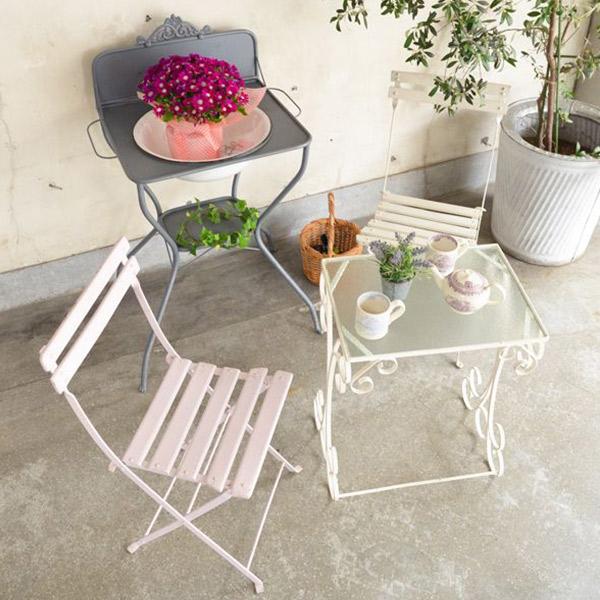 ガーデンチェアの使い方1
