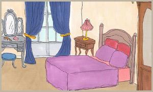 寝室のお部屋から選ぶ