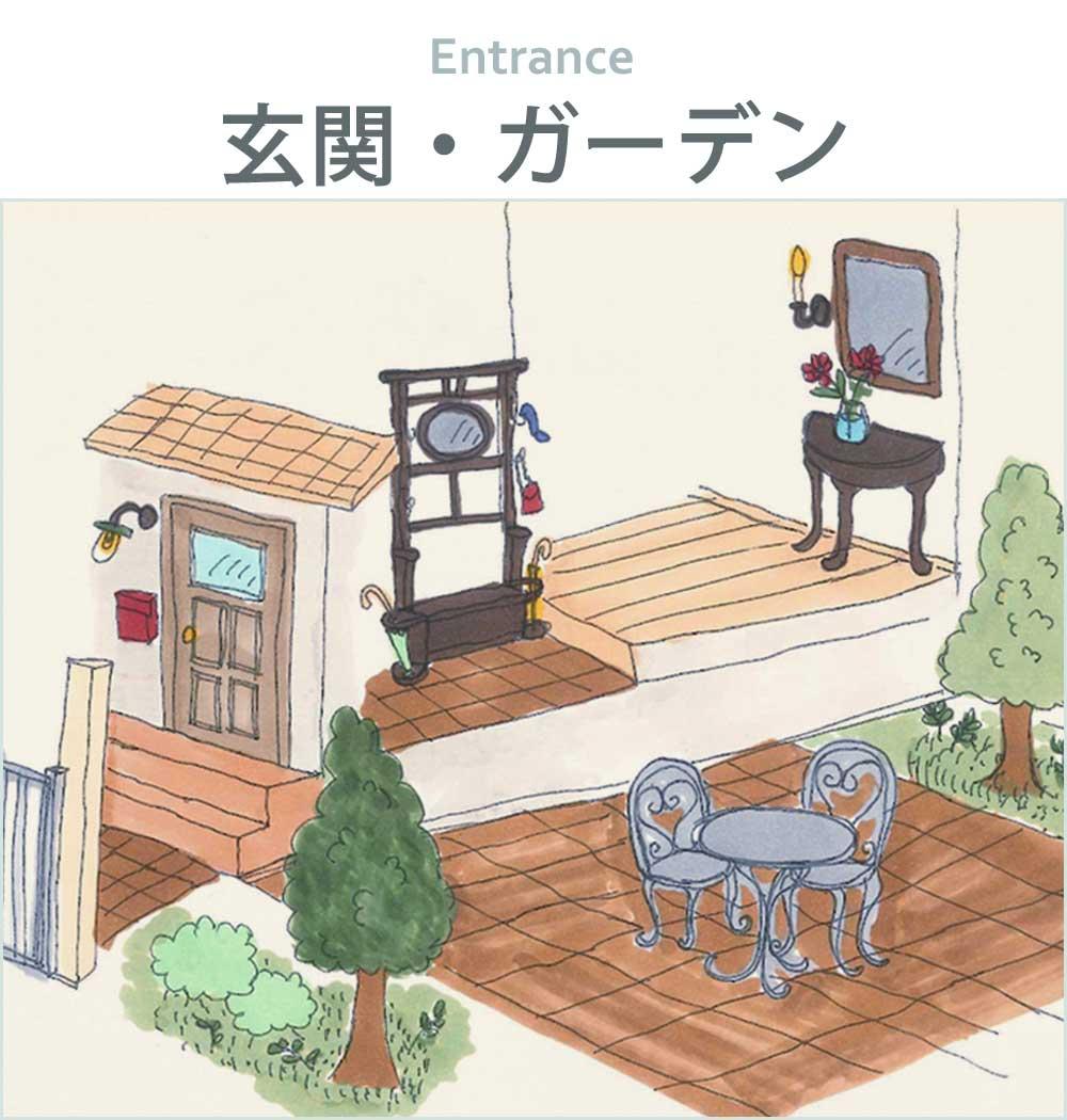 玄関・ガーデンから家具や椅子を選ぶ